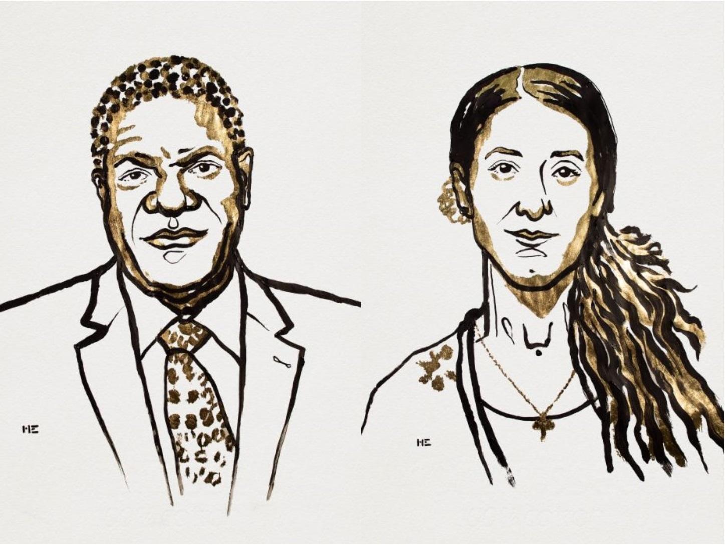 Denis Mukwege et Nadia Murad reçoivent le prix Nobel de la paix 2018
