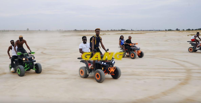 Enamel la nouvelle sensation afropop présente Gang