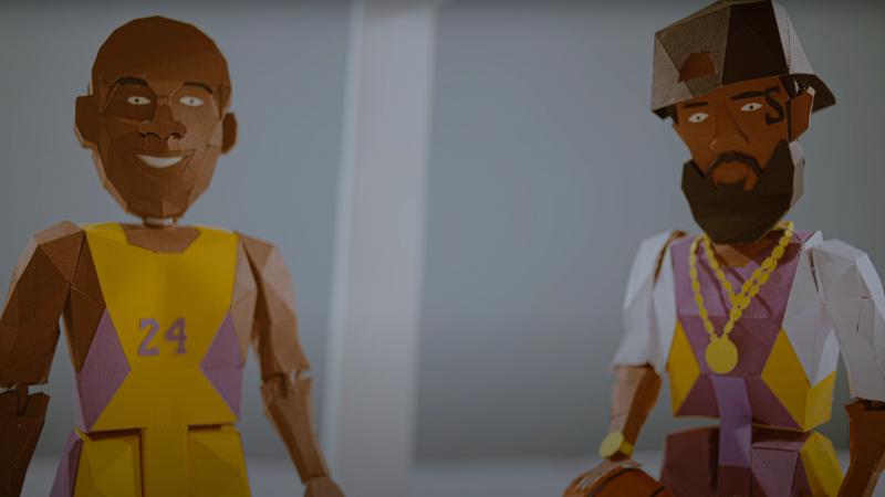 Nispey Hussle et Kobe Bryant dans le dernier clip de The Game