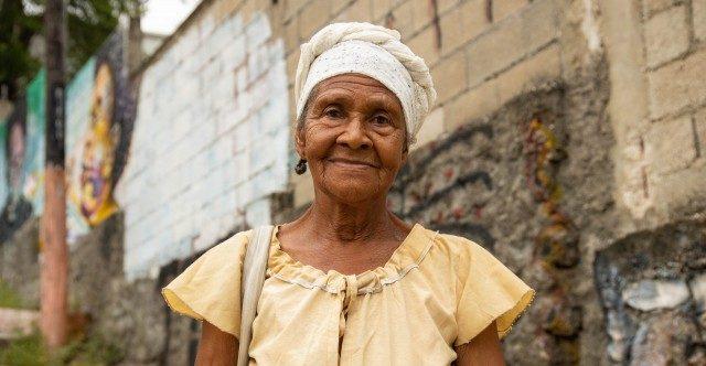 Jacqueline Ridoré, 72 ans, définition du courage dans les rues d'Haïti