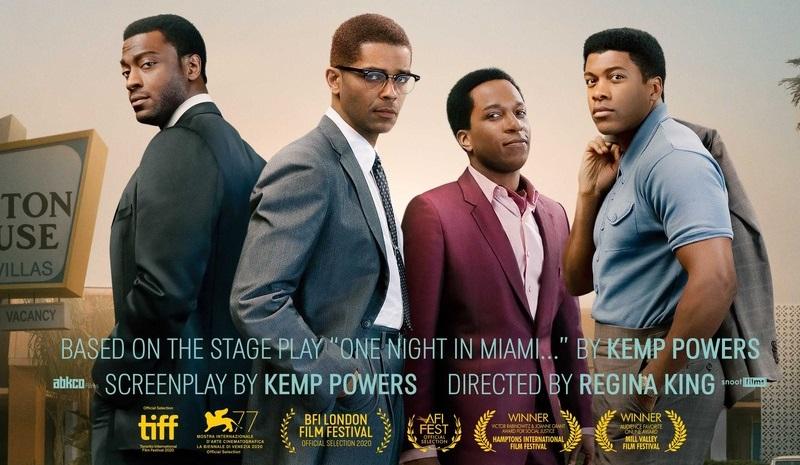 One Night in Miami réalisé par Regina King sur Amazon Prime vidéo