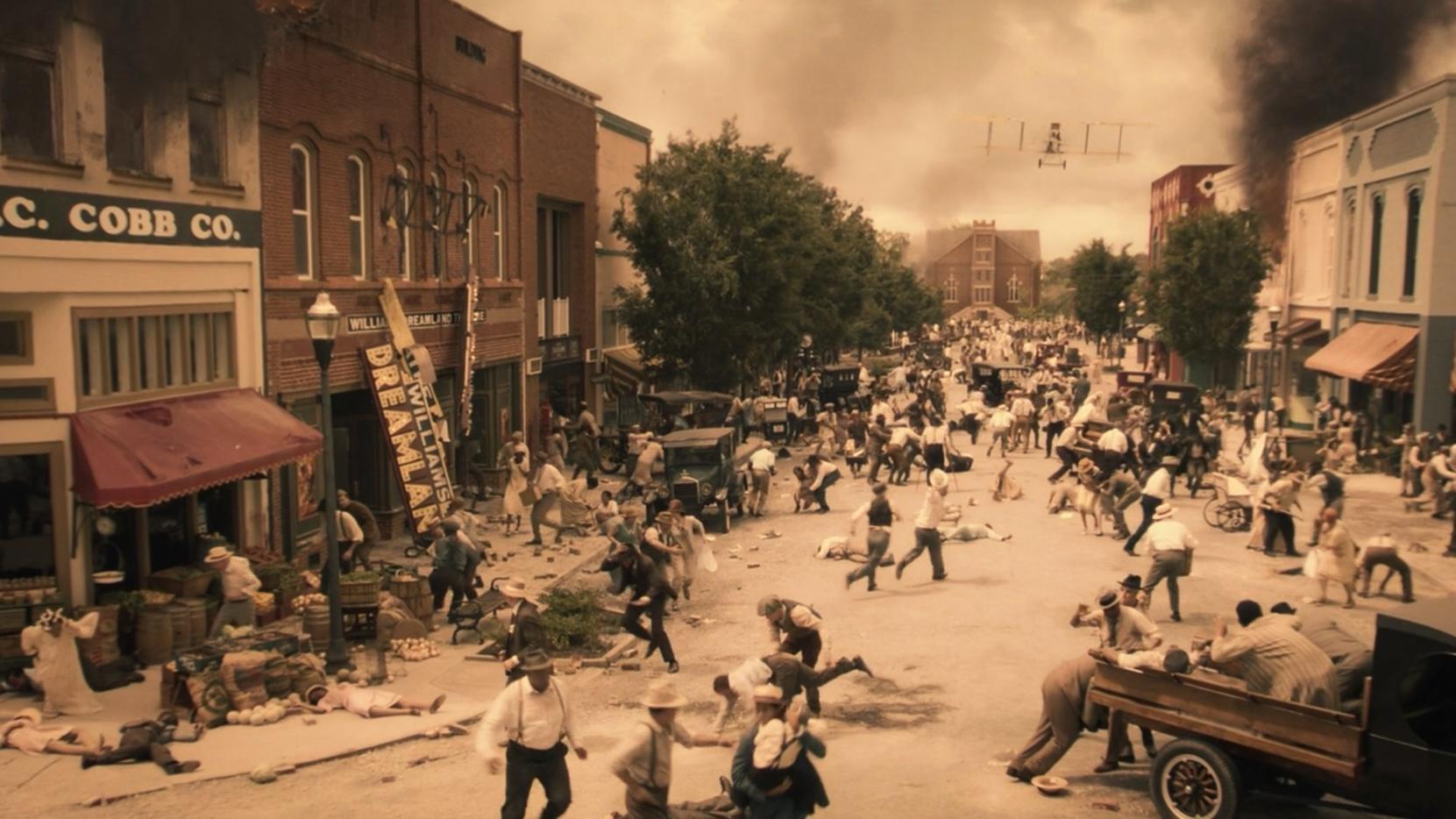 Black Wall Street, le massacre des africains de Greenwood en  Oklahoma