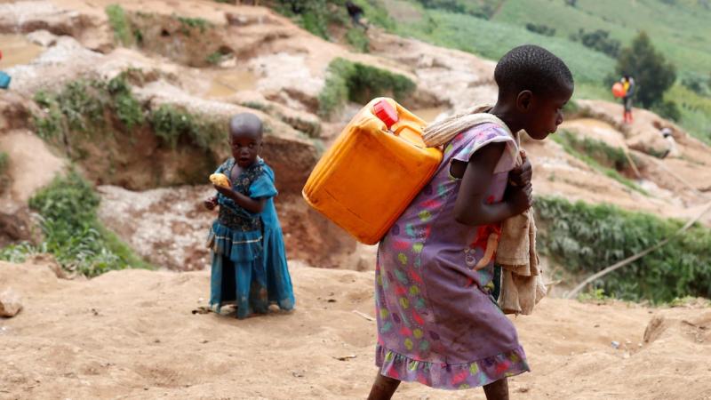 Marie-Auguy un symbole de l'effroyable réalité des enfants exploités dans les mines du Congo